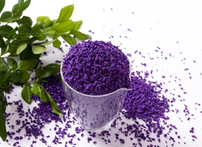 EPDM彩色面層顆粒-紫色