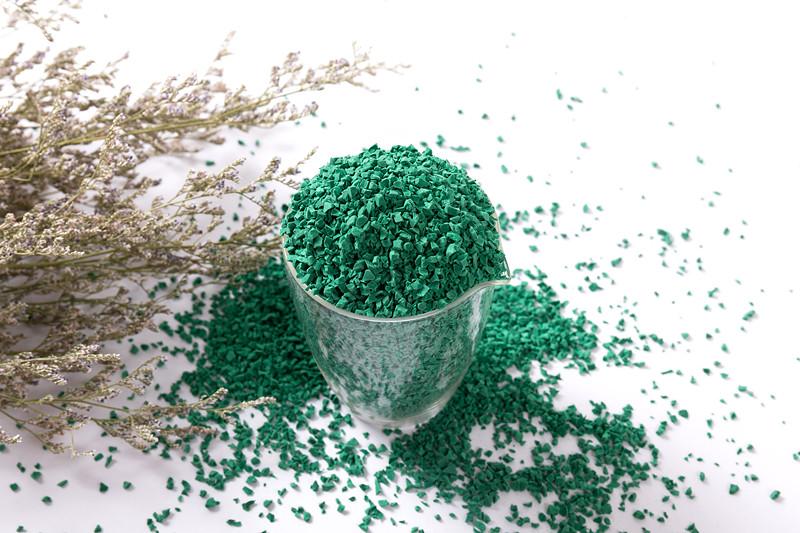 EPDM彩色面層顆粒-深綠
