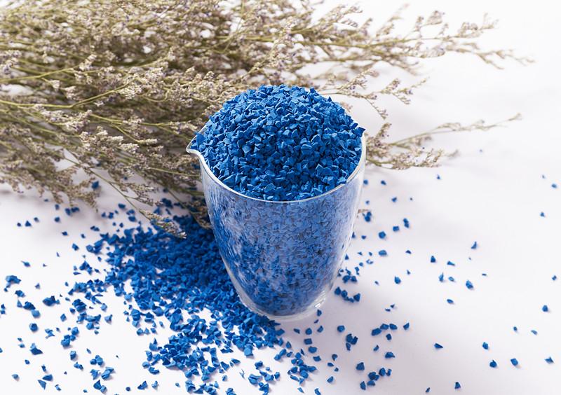 EPDM彩色面層顆粒-深藍